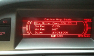 Audi CD MMI BASIC Navigation last Update